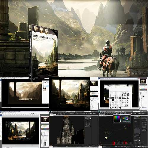 Digital Environment Painting with Raphael Lacoste