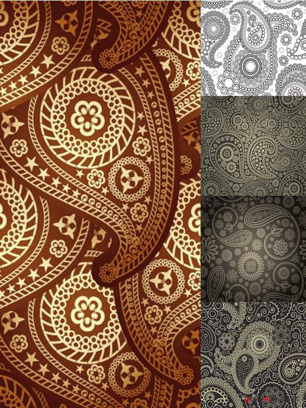Beautiful patterned backgrounds