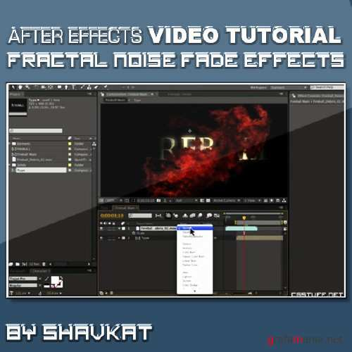 Fractal Noise Fade Effect in After Effects