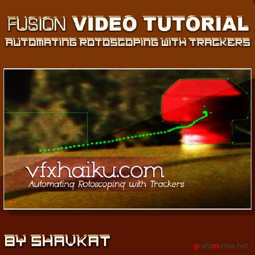 Automating Rotoscoping with Trackers in FUSION