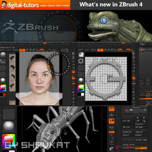 What's new in ZBrush 4 (2010)