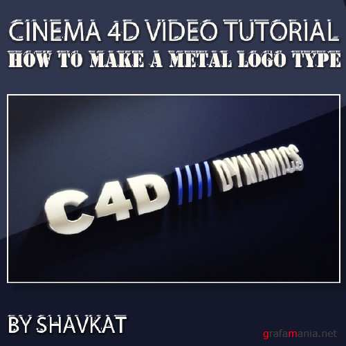 Greyscalegorilla -  How To Make A Metal Logo Type in Cinema 4D and Photoshop