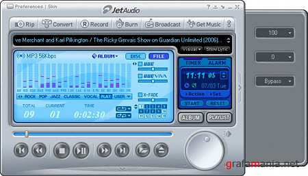 JetAudio Basic VX 8.0.10.1550 Portable (2010)
