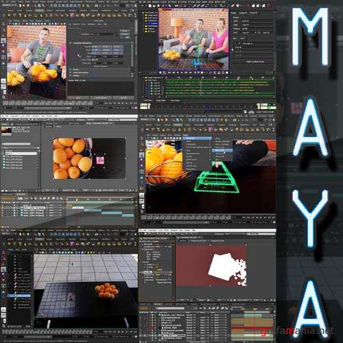Match Moving and Compositing Pipeline in Maya 2011 and After Effects