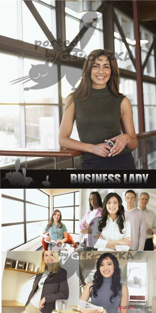 Business lady