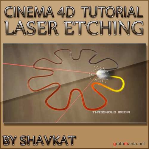 Cinema 4D Tutorial - Laser Etching