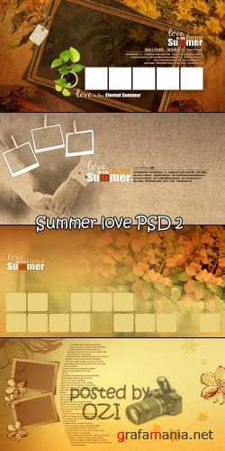 Love in the summer PSD 2