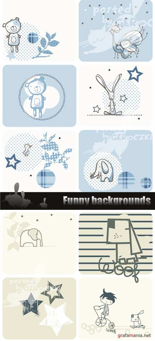 Funny backgrounds