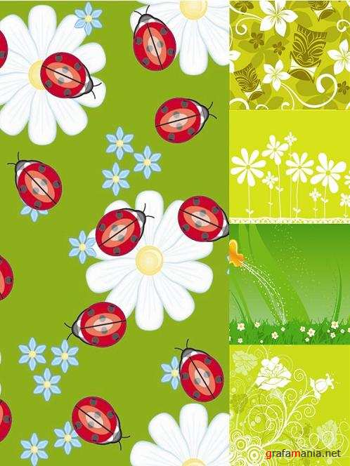 Vector Green Backgrounds