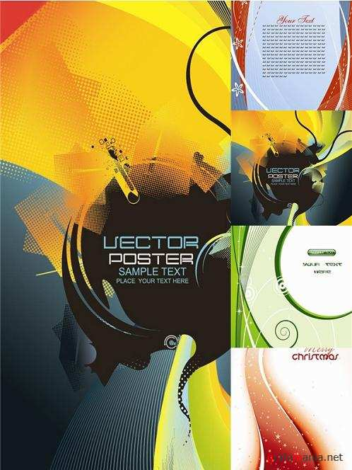 Vector Templates Set