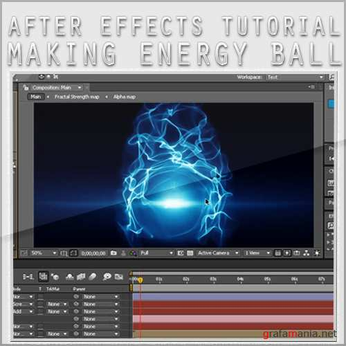 Form An Attractive Energy Ball using only After Effects