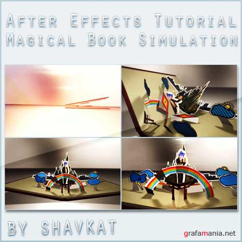 Unfold A Magical Pop Up Book Simulation in After Effects