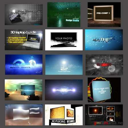 After Effects Professional Projects by VidеоНIVE