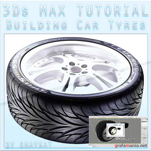 Modeling 3d Tyres in 3Ds MAX (2010)