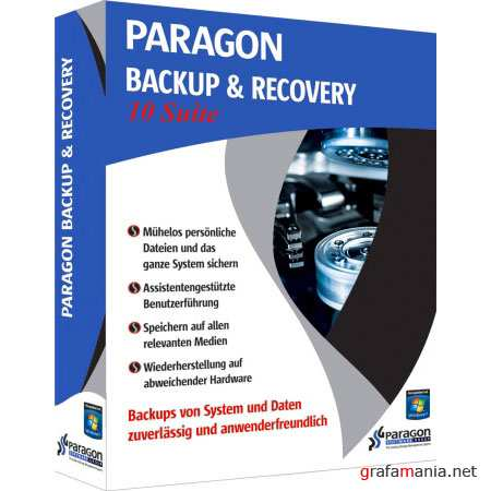 Paragon Backup and Recovery 10 Suite build 10815 (2010)
