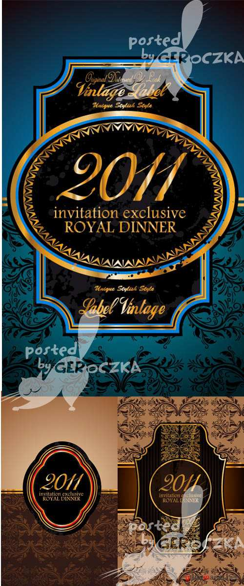 Invitation exclusive royal dinner
