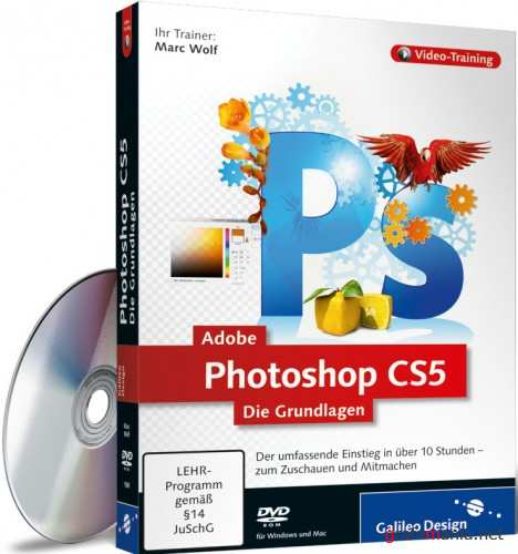 Adobe Photoshop CS5 – Die Grundlagen (2010/ DEU)