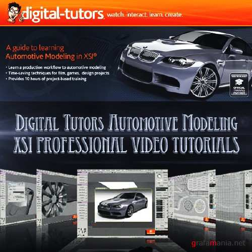 Automotive Modeling in XSI