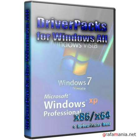 DriverPacks for Windows All + DriverPacks BASE ver.10.11.1 (2010/RUS/ENG)