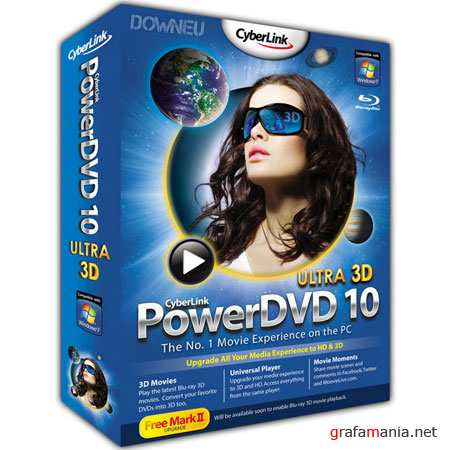 CyberLink PowerDVD 10 Mark II Ultra 10.0.2325.51 (RUS/2010)