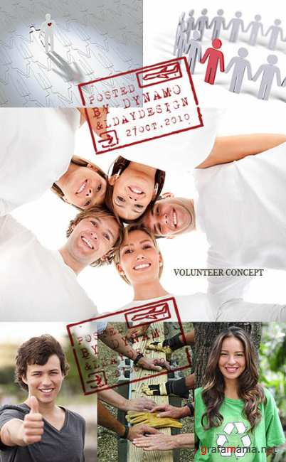 Stock Photo - Volunteer сoncept