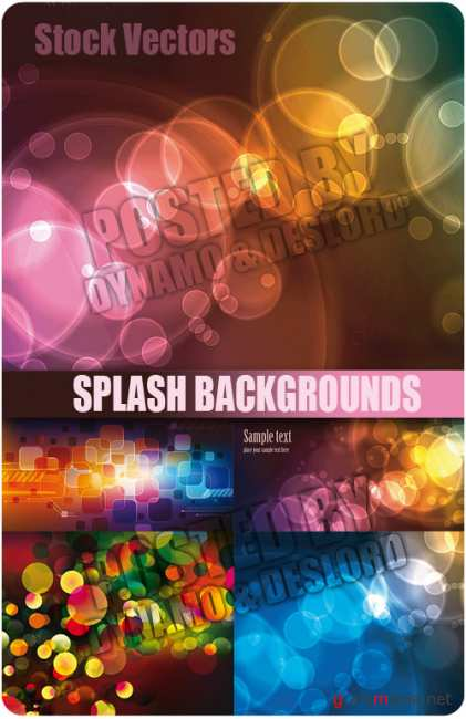 Stock Vectors - Splash backgrounds