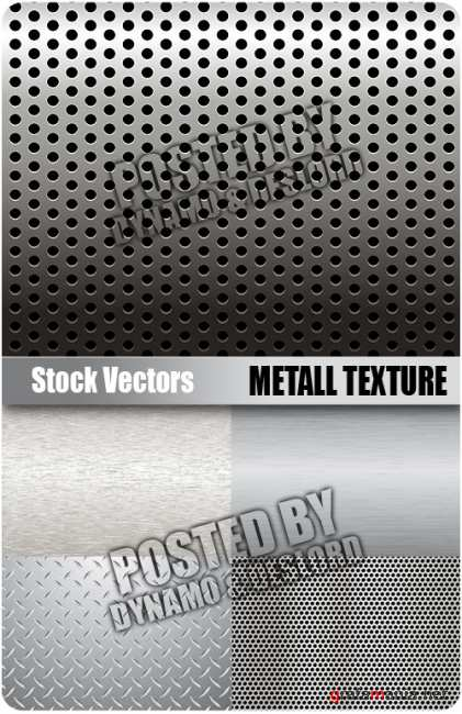 Stock Vectors - Metall texture