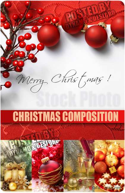UHQ Stock Photo - Christmas composition