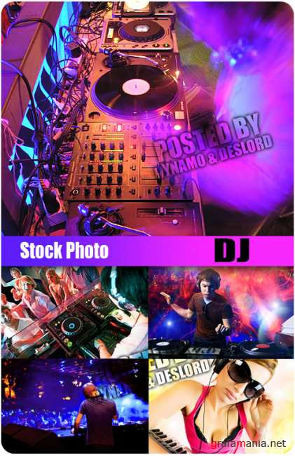 UHQ Stock Photo - DJ