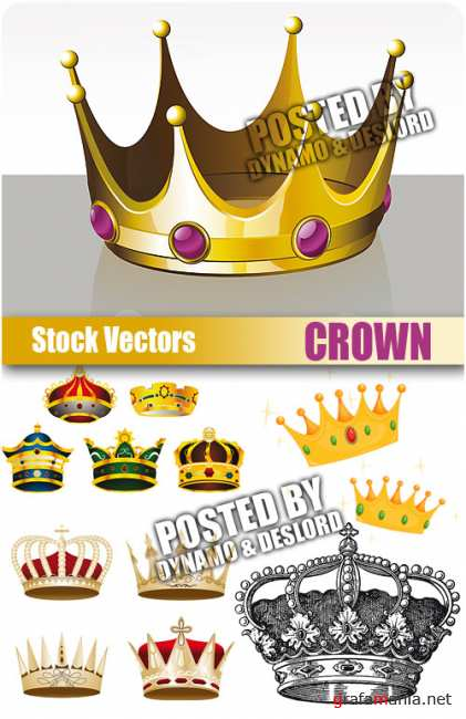 Stock Vectors - Crown