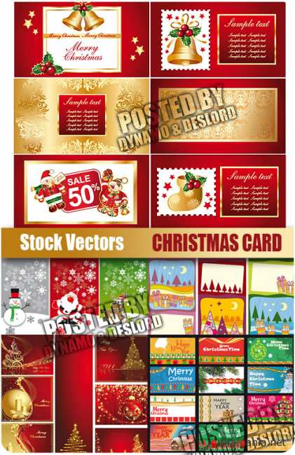 Stock Vectors - Christmas Card