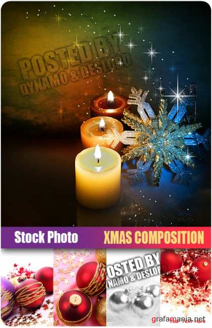 UHQ Stock Photo - Xmas Composition