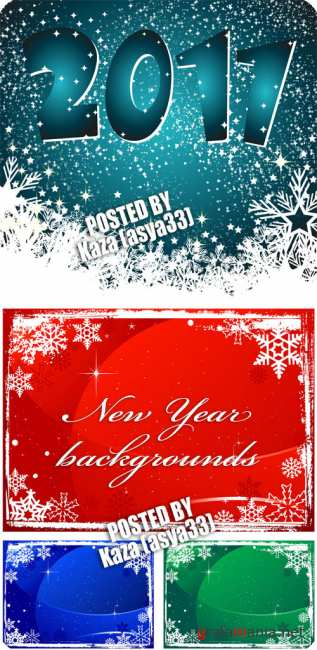 New Year backgrounds 2011
