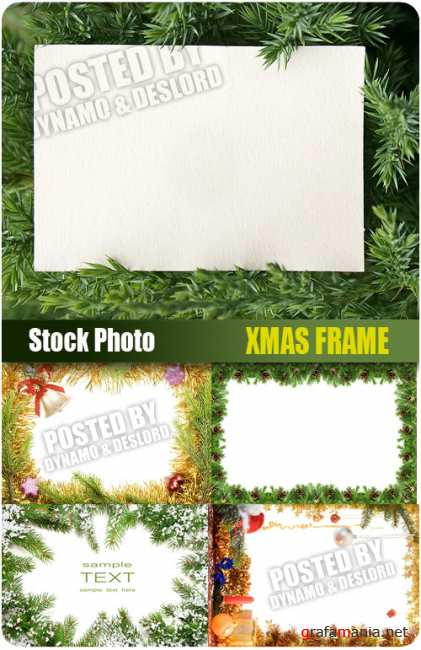 UHQ Stock Photo -Xmas Frame
