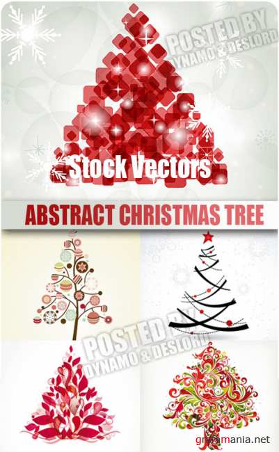 Stock Vectors - Abstract christmas tree