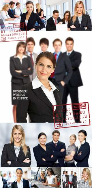 Stock Photo - Business woman in office