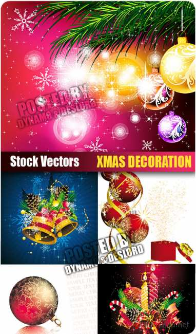 Stock Vectors - Xmas Decoration