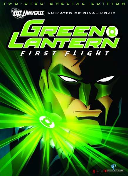 Зеленый Фонарь / Green Lantern: First Flight (2009/HDRip)