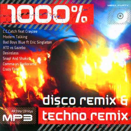 VA-1000% Disco & Techno Remix (2010)
