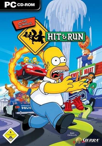 The Simpsons: Hit & Run (2003/RUS/ENG/RePack by HeupoH)