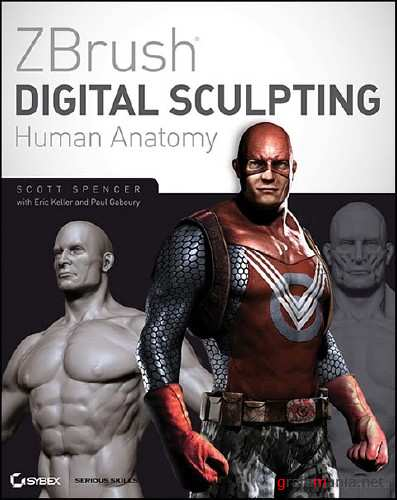 ZBrush Digital Sculpting Human Anatomy by Scott Spencer