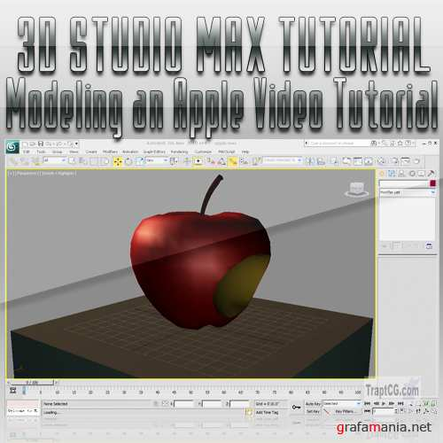 Modeling an Apple in 3D Studio Max