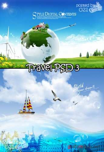Travel PSD 3
