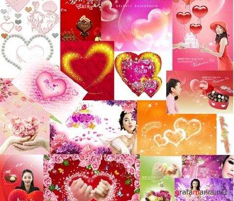 Love Collection PSD