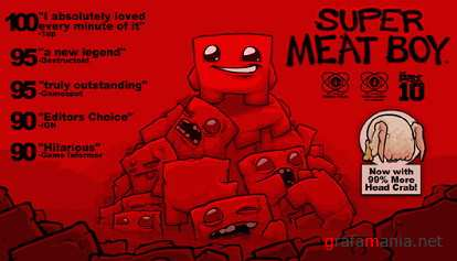 Super Meat Boy (L) [ENG] (2010)