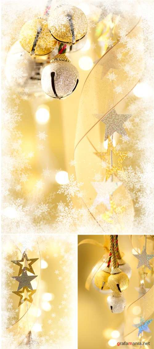 Gold christmas backgrounds