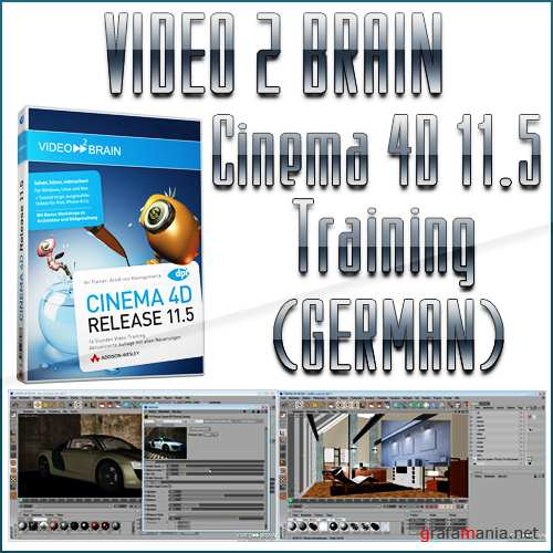 Video2Brain - Cinema 4D 11.5 Training (GERMAN)