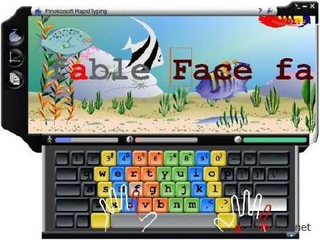 Rapid Typing Tutor 3.4
