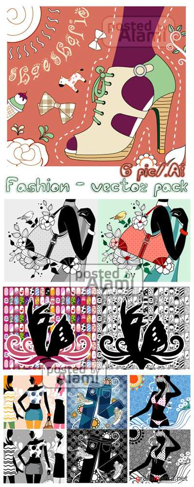 Fashion Vector Pack - Мода