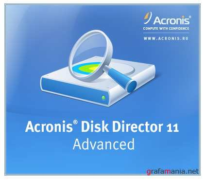 Acronis Disk Director 11.0.12077 Advanced Server Russian
